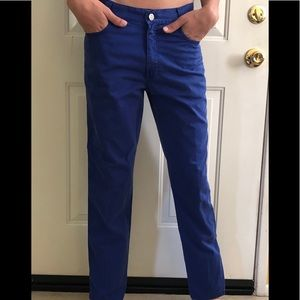 Versace V2 Classic Royal Blue Jeans